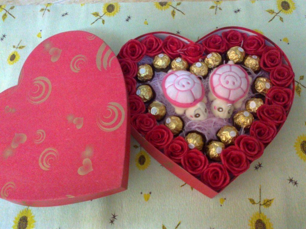 Shop bán hộp đựng quà dành cho ngày Valentine
