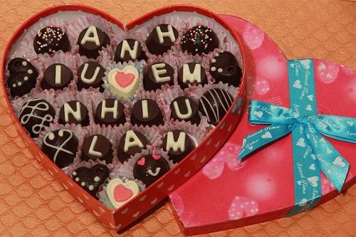 Mẫu hộp quà đẹp tặng ngày Valentine