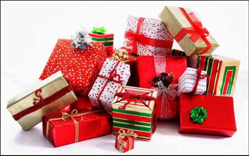 Mẫu ảnh hộp quà đep dành cho lễ giáng sinh Noel