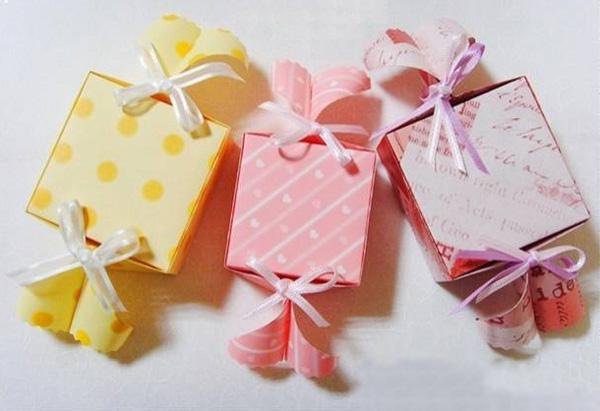 Cách gấp hộp quà đựng kẹo ngọt ngào và cực đáng yêu