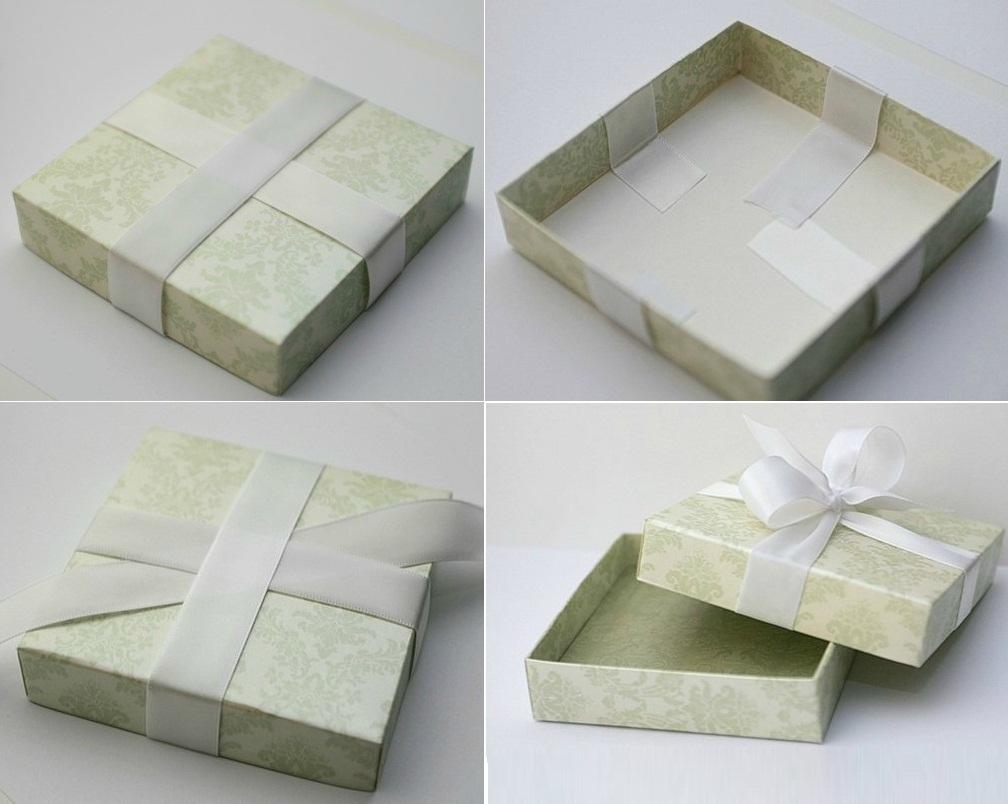 Cách làm hộp quà hình vuông Đơn Giản mà SIÊU dễ thương