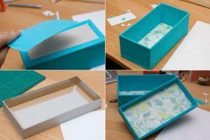Cách làm hộp quà có nắp Đẹp
