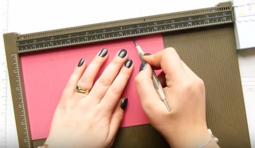 Cách làm hộp quà giấy Đẹp và Ấn Tượng nắp liền - Mẫu 1