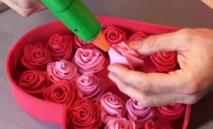 Cách làm hộp hoa hồng trái tim cho ngày lễ Valentine