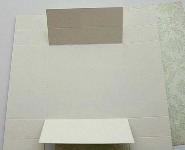Cách làm hộp quà hình chữ nhật bằng bìa cứng đẹp - Bước 2
