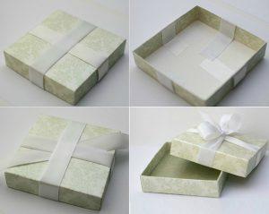 Cách làm hộp quà hình chữ nhật bằng bìa cứng đẹp - Thành phẩm