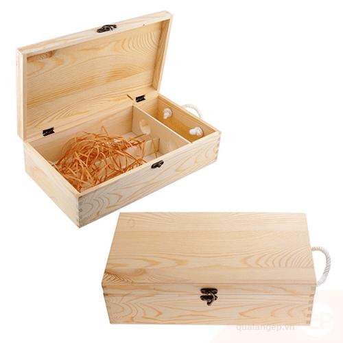 Mẫu hộp gỗ đựng quà đẹp và sang trọng 2