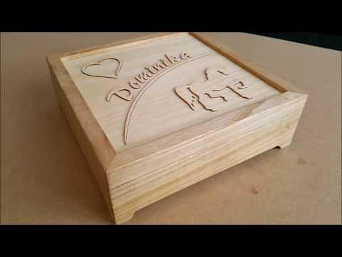 Mẫu hộp gỗ đựng quà đẹp và sang trọng 3