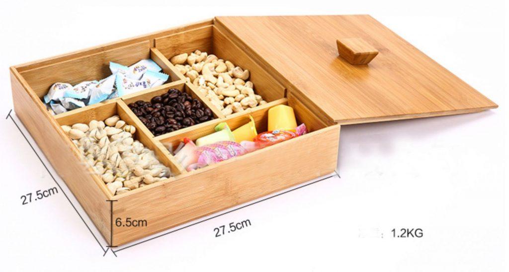 Mẫu hộp gỗ đựng quà đẹp và sang trọng 4