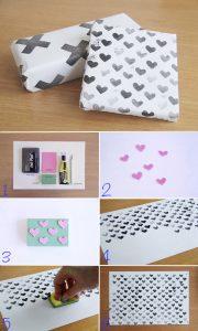 Cách tự chế giấy gói quà đơn giản SIÊU đẹp và Đáng yêu