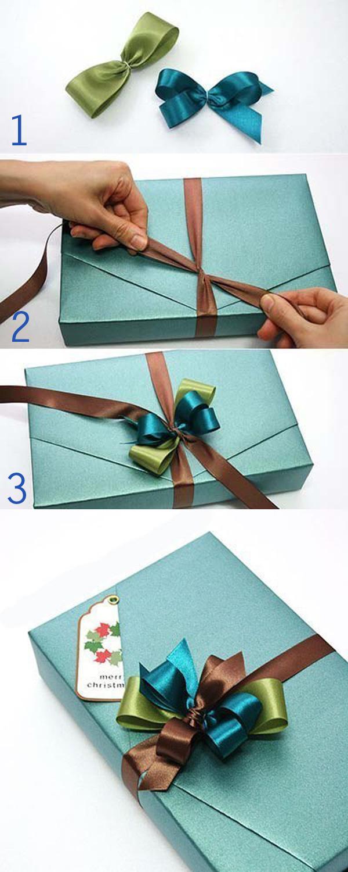 Mách bạn 3 cách buộc dây ruy băng hộp quà đẹp mê mẩn