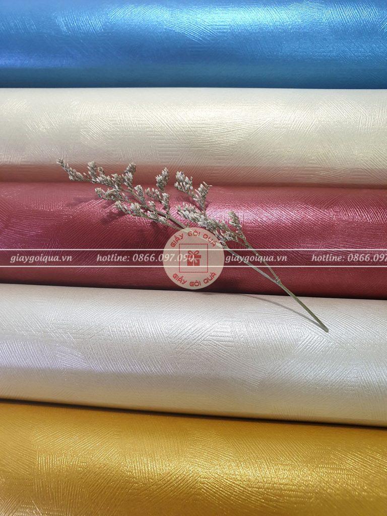 Giấy gói quà sợi len Hàn Quốc cao cấp