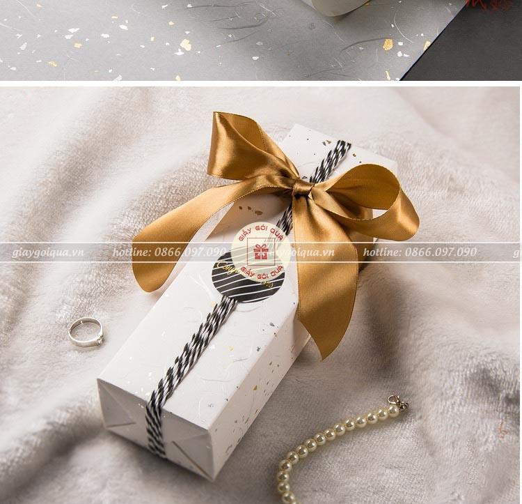 Hộp quà tặng đẹp HQ11 - Kích thước 30x10x10