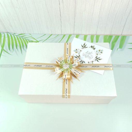 Hộp quà sinh nhật đẹp size lớn HQ03 - Kích thước 30x20x10