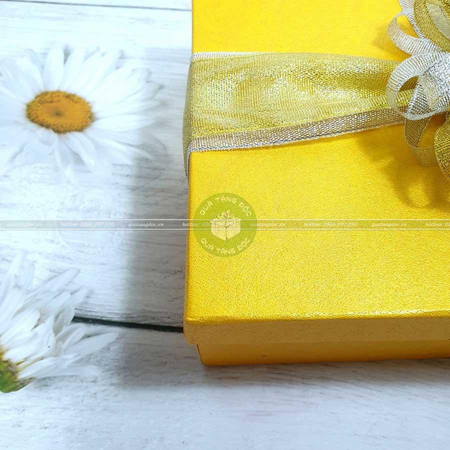 Hộp quà tặng đẹp HQ05 - Kích thước 23x17x7