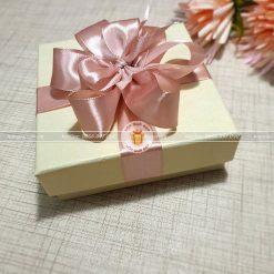 Hộp quà đựng trang sức, vòng tay cỡ nhỏ HQ13 – Kích thước 10x10x3