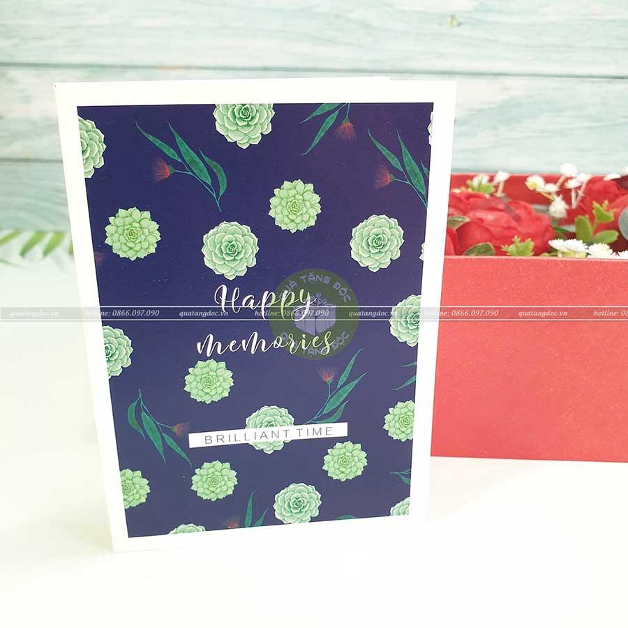 Thiệp quà tặng TM01 – Happy Memories