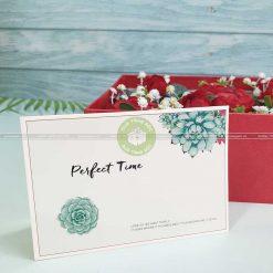 Thiệp quà tặng ý nghĩa TM03 – Perfect Time