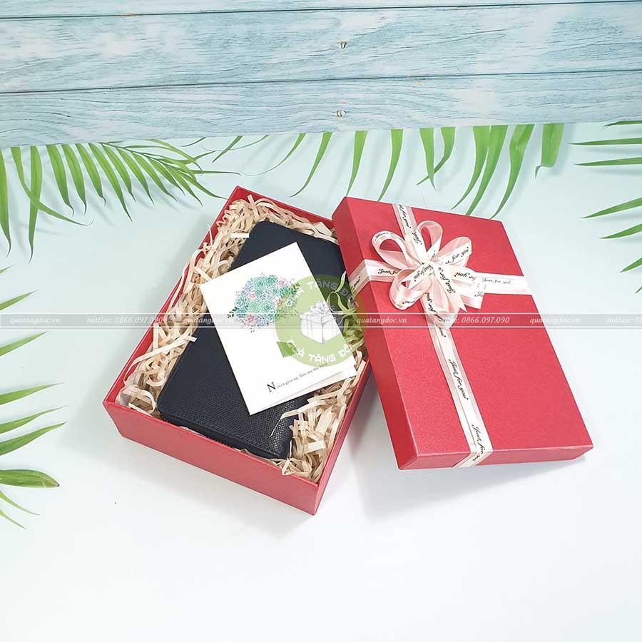 Hộp quà Valentine, hộp quà tặng người yêu KT 23x17x7cm - HQ24