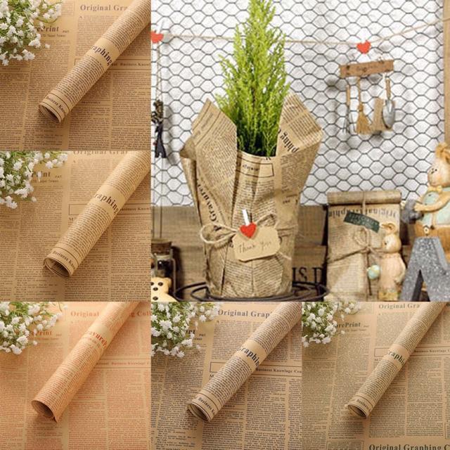 Chọn giấy gói quà vintage trơn hay giấy có hoa văn cổ điển?