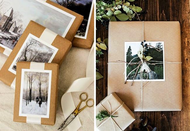 Sử dụng hình ảnh và bưu thiếp như đồ trang trí