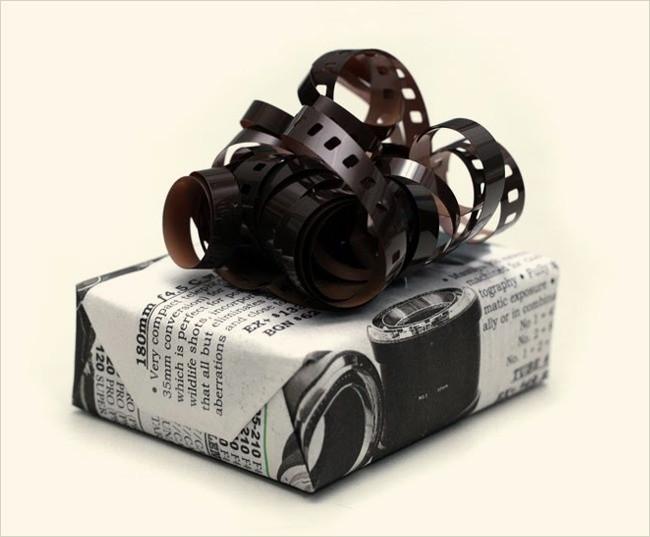 Dải ruy băng được làm từ cuộn phim ảnh