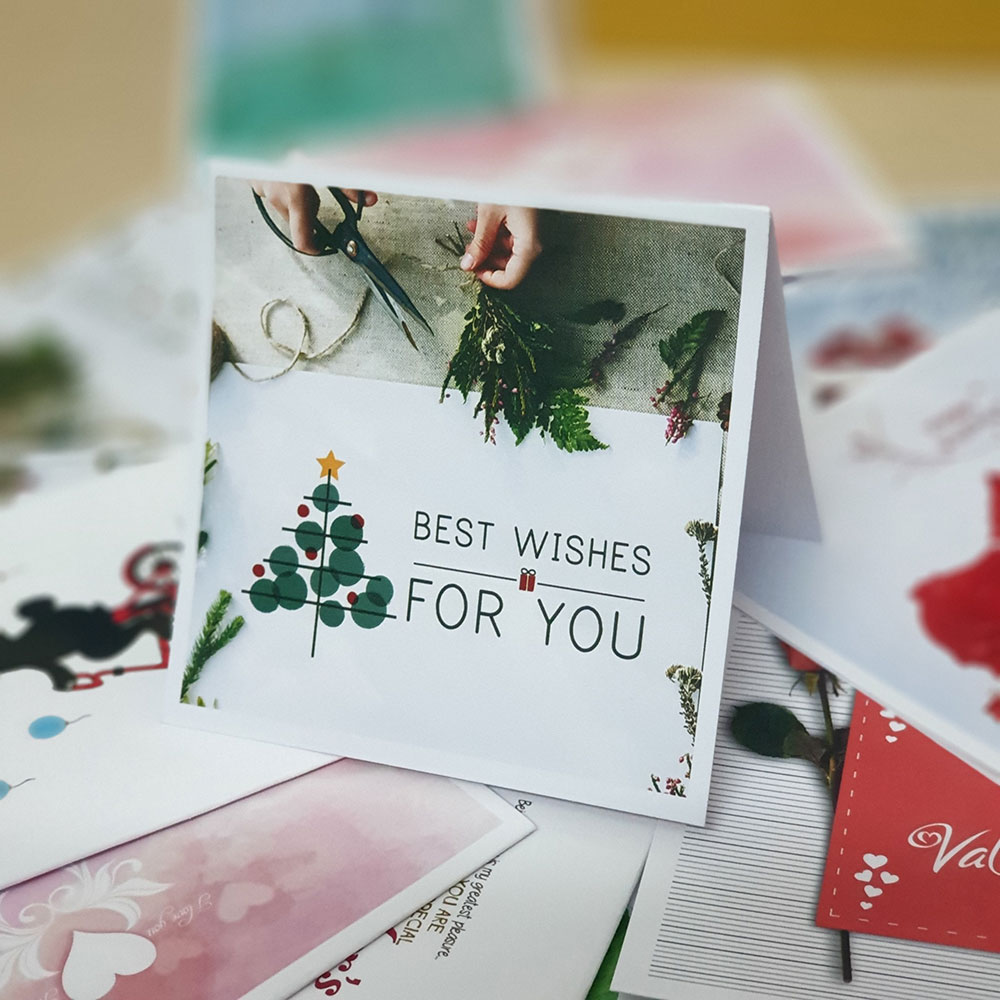 TM05 - Thiệp mừng Best Wishes For you