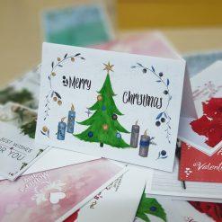 TM15 - Thiệp mừng Merry Chrismas