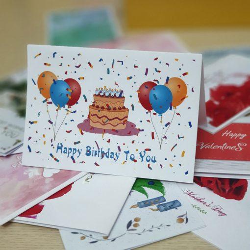 TM17 - Thiệp mừng Happy Birthday To You