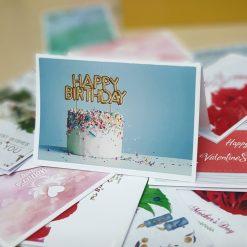 TM19 - Thiệp mừng Happy Birthday