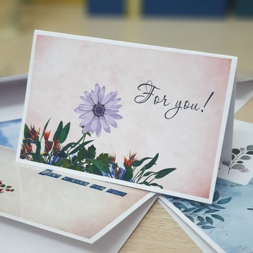 TM27 - Thiệp mừng For you