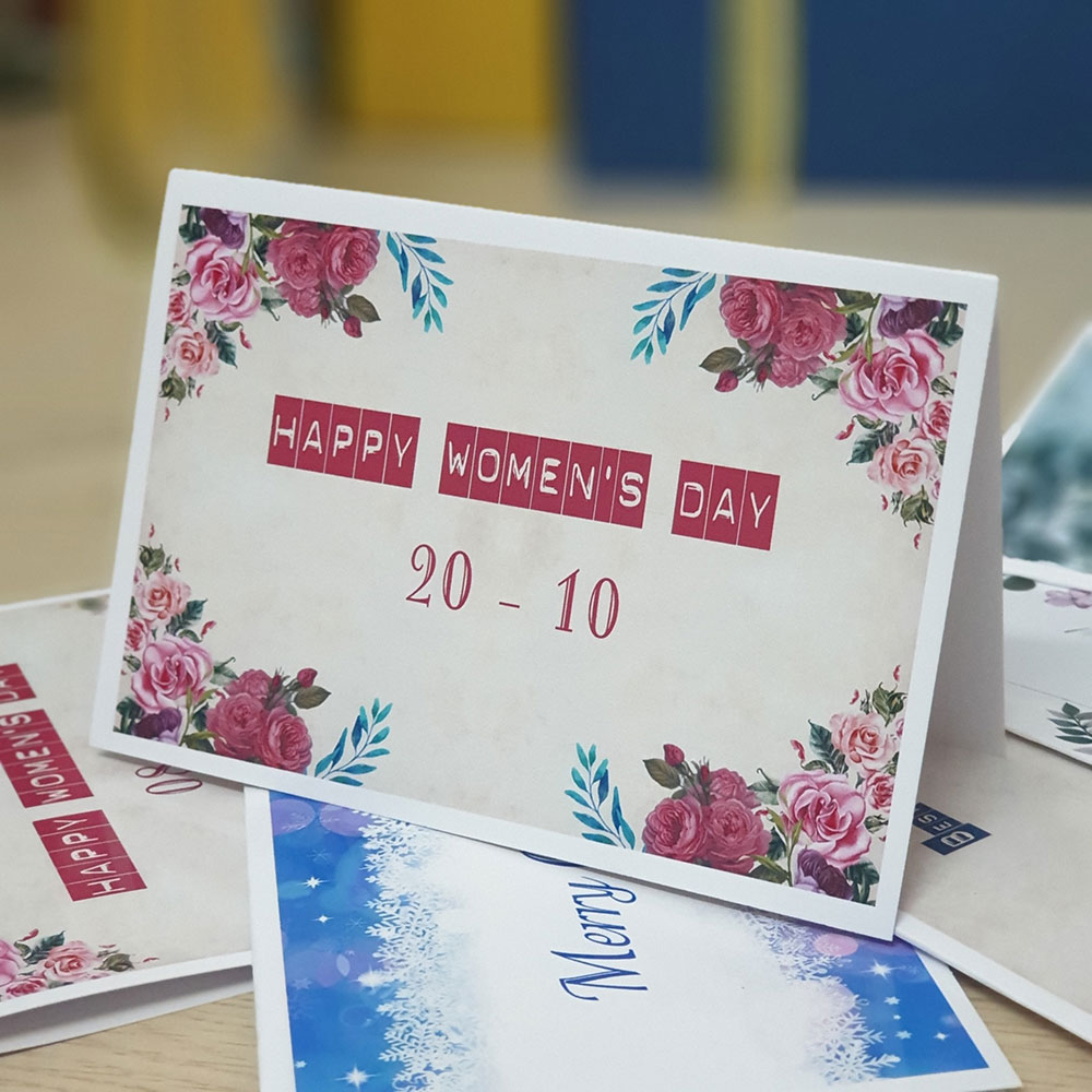 TM31 - Thiệp mừng 20-10 Happy Woman's Day