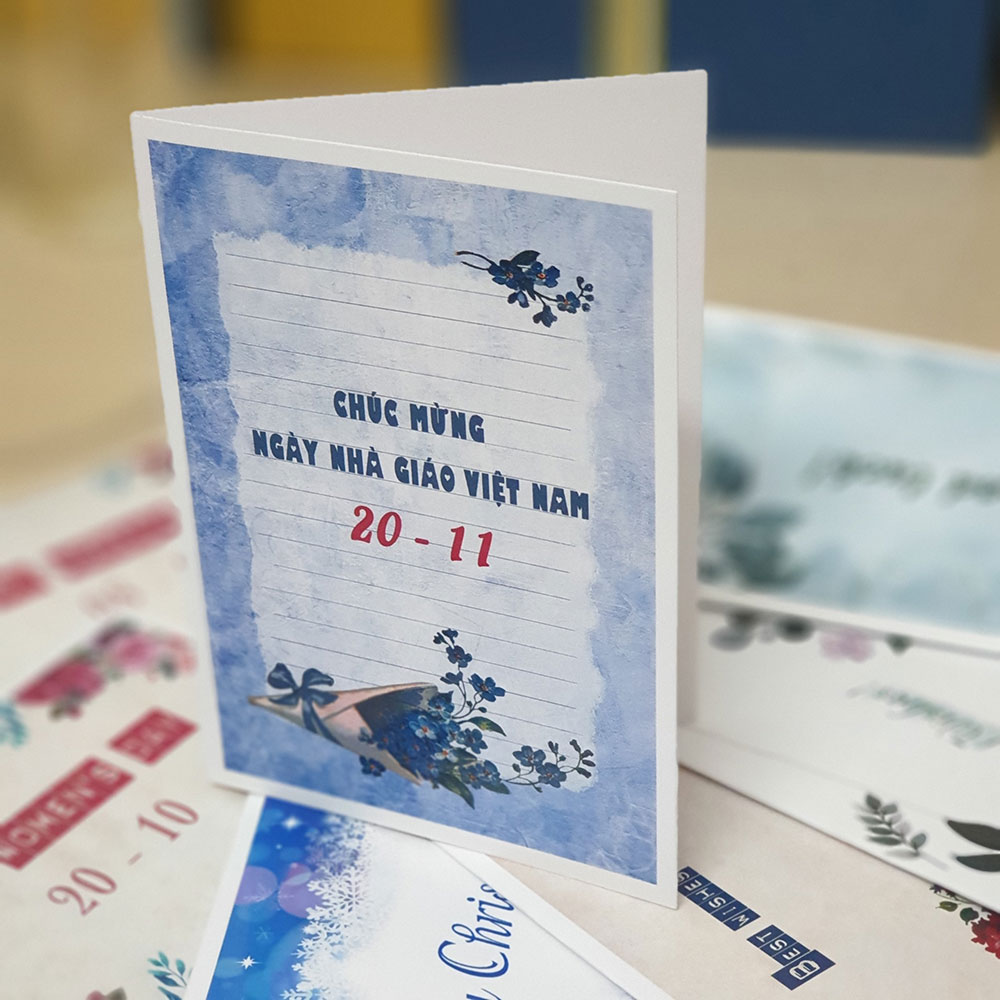 TM32 - Thiệp mừng 20-11 - Chúc mừng ngày nhà giáo Việt Nam