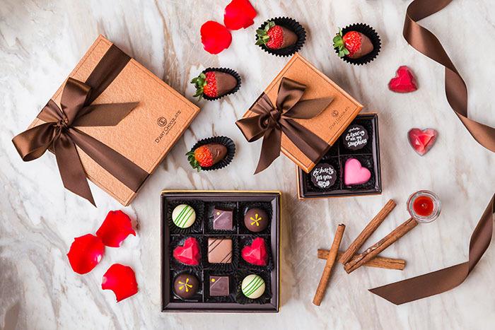Chocolate là món quà không thể thiếu trong mùa valentine