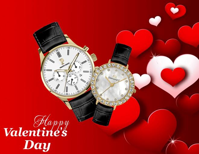 Quà valentine cho chàng- Đồng hồ