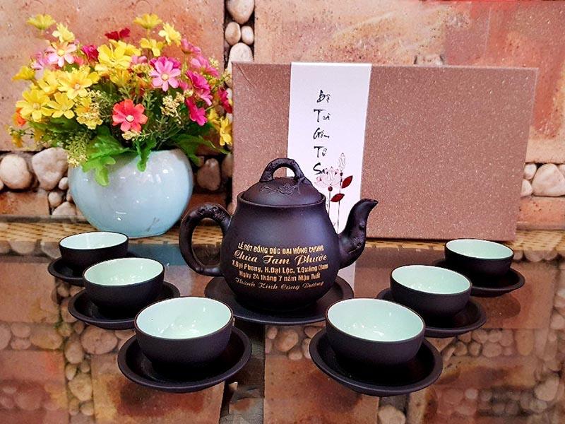 Quà cho ba- Bộ ấm chén trà
