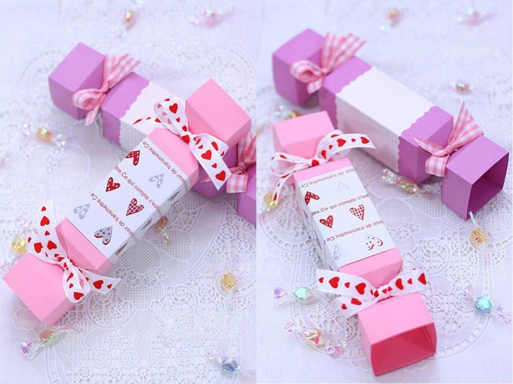 Hộp quà hình viên kẹo