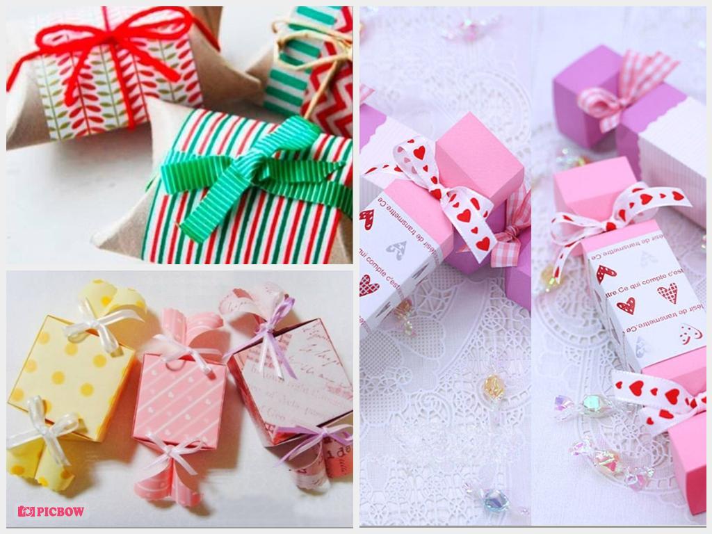 Những cách gói quà hình kẹo lạ mắt, dễ thực hiện
