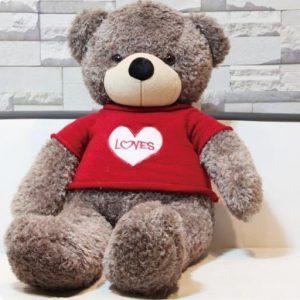 Tặng nàng một chú gấu bông dễ thương