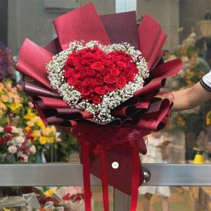 Tặng hoa ngày valentine nên tặng hoa hồng màu gì?