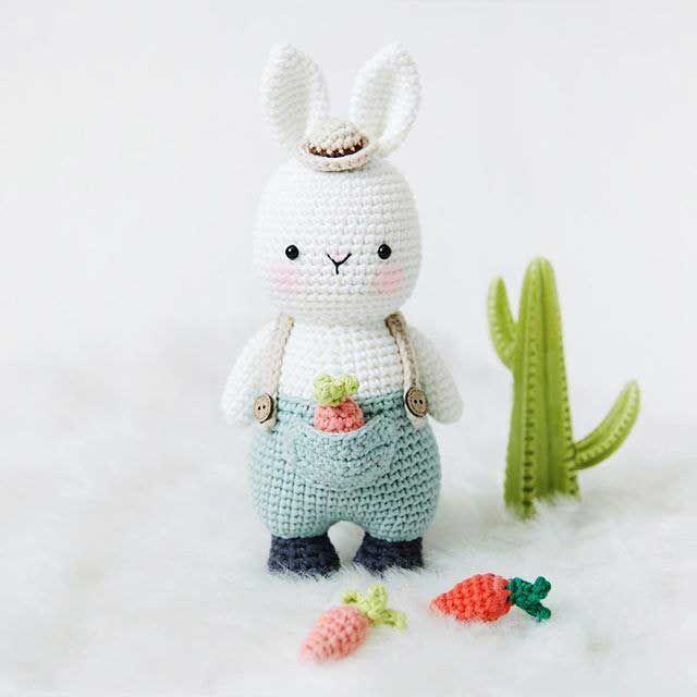 Tự tay đan thú bông làm quà tặng