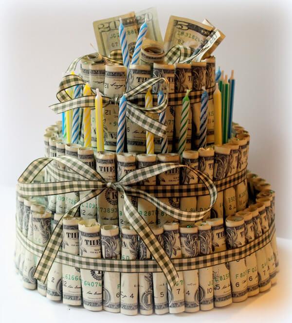 Tổng hợp những món quà sinh nhật bằng tiền độc lạ