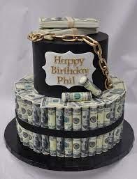 Bánh sinh nhật bằng tiền