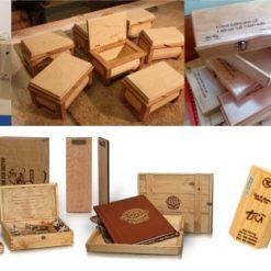 In hộp gỗ