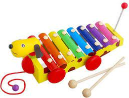 Đồ chơi nhạc cụ giúp bé phát triển thính giác