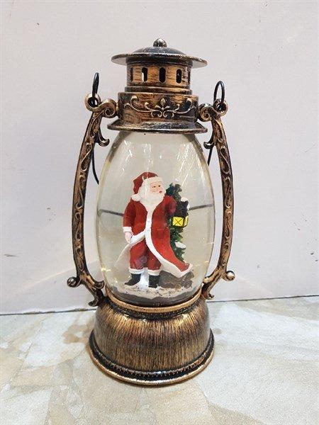 Hộp nhạc hình đèn dầu măng xông cổ điển